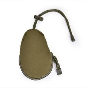 Mini Outdoor Hiking EDC Carrying Bag Key Coin Purse(Army Green)