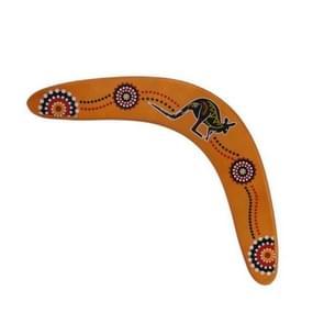 V-vormige houten outdoor sport Boomerang speelgoed