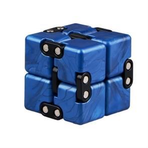 Creatieve decompressie puzzel glad leuk oneindige Rubik kubus Toy (zwart)