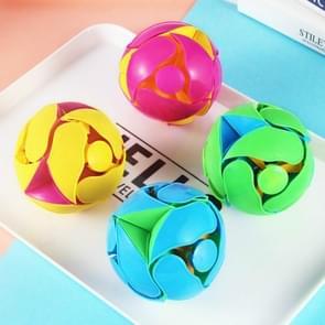 Creatieve hand gooien kleur veranderende bal transformatie telescopische vervorming bal Magic rekwisieten educatieve kinderen speelgoed (willekeurige kleur)