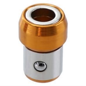 Volledige metalen schroevendraaier hoofd plus magneet (oranje)