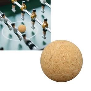 Tafelvoetbal accessoires 36mm houten voetbaltafel bal (hout kleur)