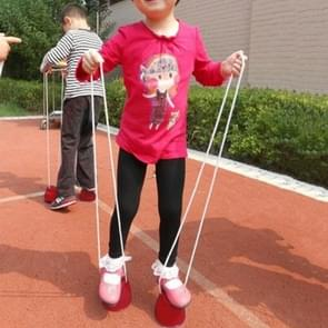 2 PCS Kindergarten Toy Balance Training Equipment Plastic Thick Sorghum,Random Color Deliver