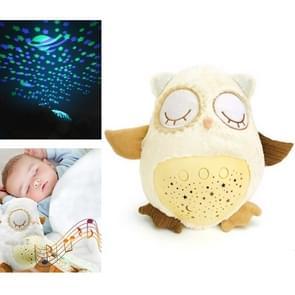 Baby slaap kalmerende en Lullaby machine geluid met Star projector muziek comfort pluche speelgoed (JLD-333-38A)