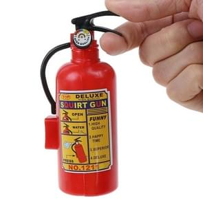 2 stuks DIY water pistool kleine spray kunststof brandblusser kinderen speelgoed  grootte: 4 × 3.8 × 11cm (rood)