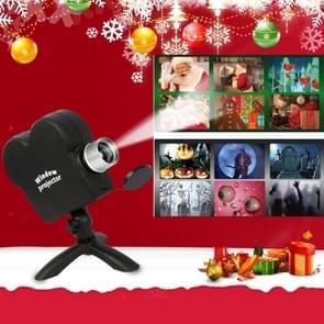 Kerst Halloween laser projector mini venster home theater projector  plug type: EU plug