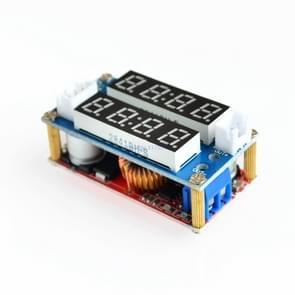 5A constante stroom constante spanning LED-aandrijving instelbare voeding lithium-ion batterij laadstroom spannings meter