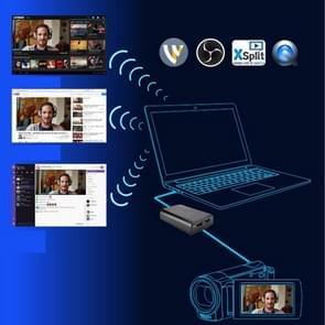 ezcap266 HD USB 3.0 naar HDMI Game Live Broadcast Box met microfoon  ondersteuning 4K 30fps Uitgang