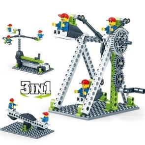 KY1000-1 Werktuigbouwkunde Geassembleerd Bouwstenen Kinderen Puzzel speelgoed
