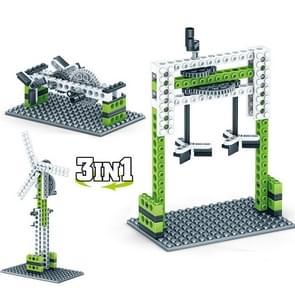 KY1000-2 Werktuigbouwkunde Geassembleerd Bouwstenen Kinderen Puzzel speelgoed