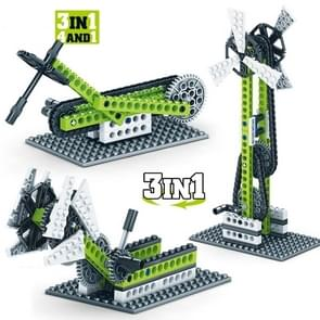 KY1000-3 Werktuigbouwkunde Geassembleerd Bouwstenen Kinderen Puzzel speelgoed
