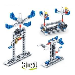 KY1001-2 Werktuigbouwkunde Geassembleerd Bouwstenen Kinderen Puzzel speelgoed