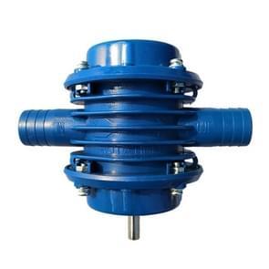 J137 huishoudelijke kleine zelfaanzuigende centrifugale pomp elektrische boor water pomp (blauw)