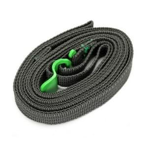 Outdoor Guick release Camping clothesline Strapping touw (groen)