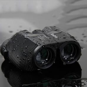 ROLISS 10 x 25 outdoor sport draagbare waterdichte pocket verrekijker High Power Telescoop (zwart)
