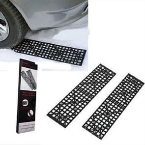 1 paar auto off-road plaat banden Skid Plates zelf-redding Off-Road apparatuur voor sneeuw en modder