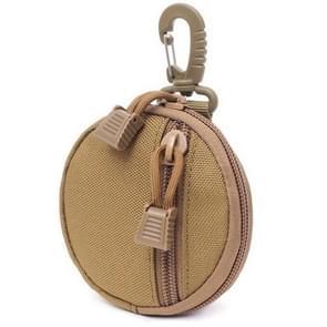 Multifunctional Waterproof Wallet Outdoor Camping Key Coin Small Wallet(Khaki)