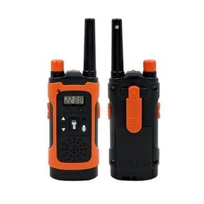 1 Pair Parent-child Interaction Handheld Walkie-talkie Phone Mini Wireless Call Children Educational Toys (Red)