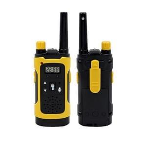 1 Pair Parent-child Interaction Handheld Walkie-talkie Phone Mini Wireless Call Children Educational Toys (Geel)