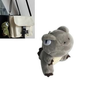 Schattig dinosaurus pluche speelgoed Tyrannosaurus Rex cartoon sleutelhanger zak kleine hanger autosleutel hanger (Gery)