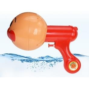 Kinderen brood grote Superman kleine water gun zomer water speelgoed 3D stereo cartoon Super water gun outdoor speelgoed (rood)