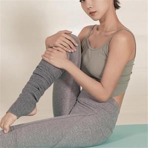 Yoga Leggings Stockings Winter Adult Sports Socks Warm Wool Socks(Grey)