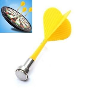 10 PCS Magnetic Darts met sterke magnetische aantrekkingskracht om kinderdarts te stabiliseren (willekeurige kleur)