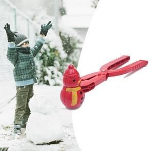 Sneeuwbal vechten sneeuw clip buiten speelgoed simulatie Snowman Modeling Snowball maken, willekeurige kleur levering
