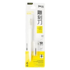 Speciale metalen gravure mes voor rubber stempel DIY sticker speciale gravure pen mes (wit)