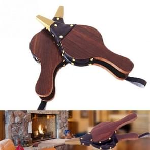 Houten Vintage donker bruin open haard blazer traditionele fornuis DIY accessoires