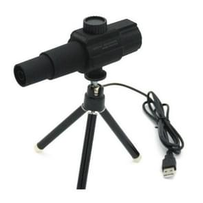 Slimme digitale telescoop USB-microscoop video camera afspelen functie Live streaming (zwart)