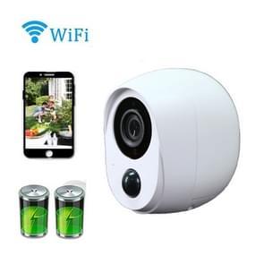 HAMSCY EQ-20S Camera Low Power Batterij waterdichte WiFi Smart Camera 1080P met 128 GB geheugenkaart