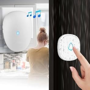 Draadloze deurbel AC plug in lange afstand Home Music call Bell  CN plug