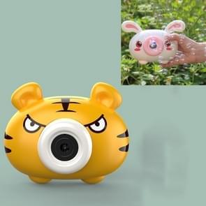 Bubble Blowing Machine Kinderen Automatische Cartoon Bubble Maker Camera Speelgoed (Tiger)