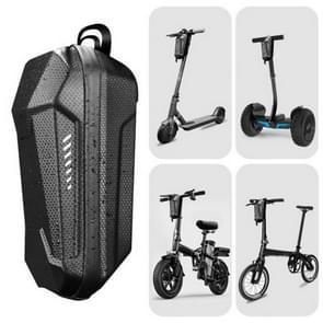 Mountainbike fiets waterdichte voortas  maat: l (zwart)