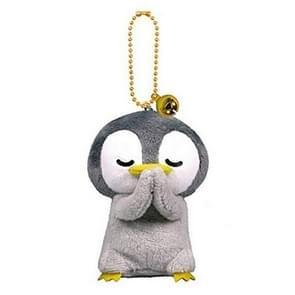 Creatieve Cartoon Blessing Doll Pluche Speelgoed Rugzak Hanger Sleutelhanger (Penguin)