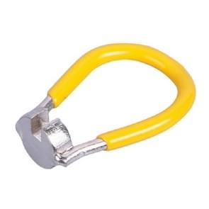 3 PCS Steel Wire Spoke Moersleutel voor fiets aanpassing en demontage Tool (Geel)