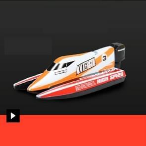 Innovatieve Mini Afstandsbediening Boot (Oranje)