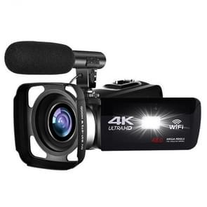 4K HD Night Vision 48MP Home WiFi Live Camcorder DV Digitale Camera  Style:Hood + Microfoon