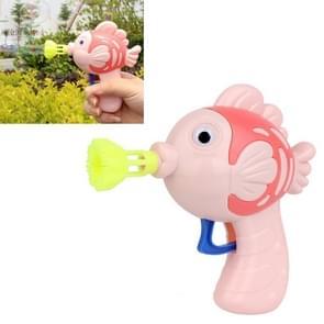 10 PCS Kinderen Mini Fish Bubble Maker Machine Speelgoed  Random Color Delivery