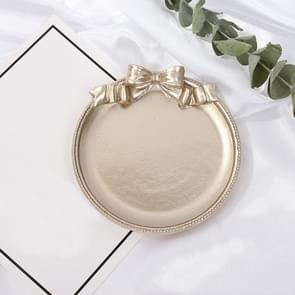 Vintage Hars gemaakt oude sieraden oorbellen lade decoratieve ornamenten foto rekwisieten  stijl: ronde (Champagne Gold)
