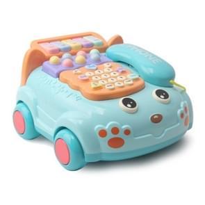 Simulatie Muziek Telefoon Speelgoed Voorschoolse Educatie Multi-functionele Learning Machine (Blauw)