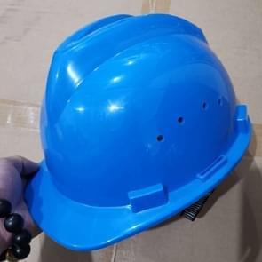 Bouwplaats Ademende Helm zonder Voorruit (Blauw)