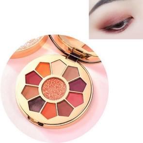 Bright Streamer Pearl Eyeshadow Palet Matte Net Red Sequin Eyeshadow Make-up (1# Gold Powder Flow)