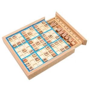 Sudoku Nine Square Grid Game Board Kinderen Logisch denken Puzzel bordspel (Blauw)