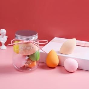 2 Sets Zachte en niet-poeder Niet-latex Beauty Egg Set Kleur willekeurige levering (Silver Cover 5 PCS)