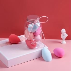 2 Sets Zachte en niet-poeder Niet-latex Beauty Egg Set Kleur willekeurige levering (Pink Cover 5 PCS)