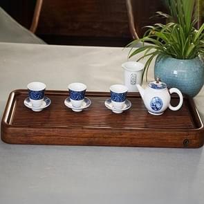 Kung Fu Tea Set Bamboe Theebak  Grootte:79x28x4cm