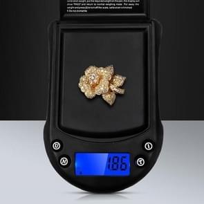 Precision Palm Scale Gold Silver Sieraden Schaal Pocket Scale  Specificatie: 200g/0.01g  Style: Zonder batterij