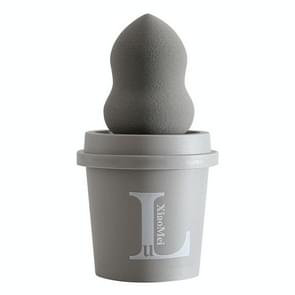 3 sets LUXIAOMEI Coffee Cup Beauty Egg Kalebas Poeder Puff Nat en droge vaste make-up water drop puff (willekeurige kleur van koffie cup)